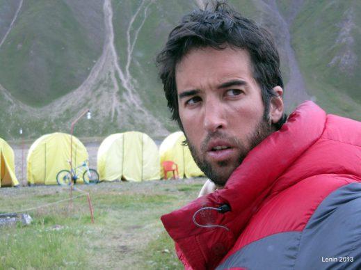 El alpinista Alejandro López, nuevo patrocinado de ECP Sport