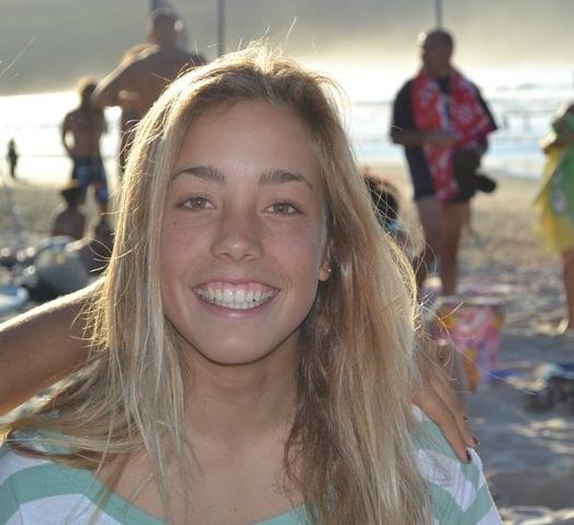 Paula Paz convocada por la selección gallega de surf