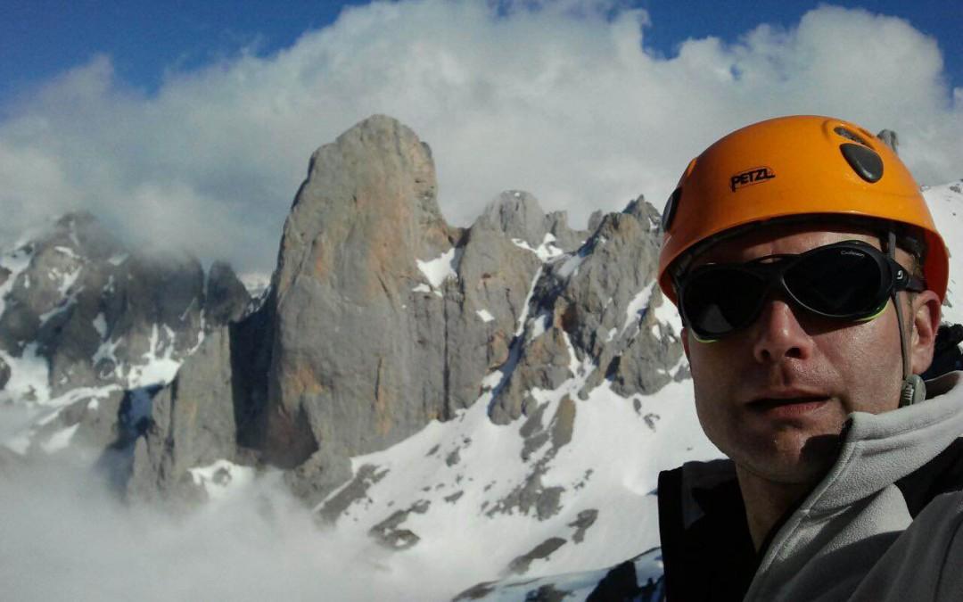 Jorge Romón en los Picos de Europa