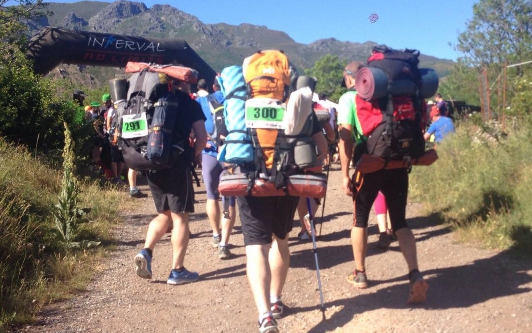 Paula García en el Babia Sherpa Tour