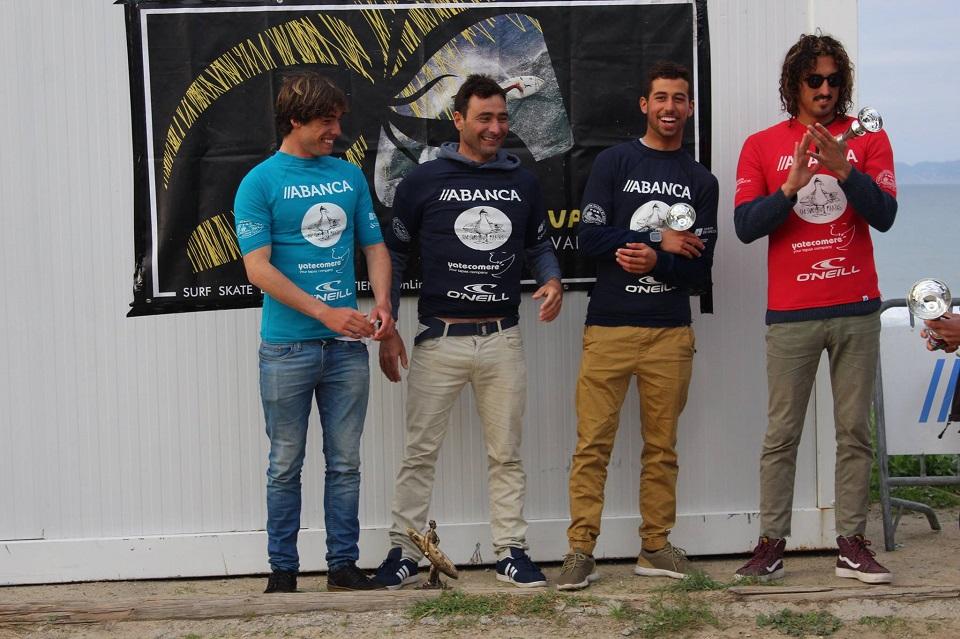 Martín Cortijo se proclama campeón en el Ranking Gallego de Surf en el Circuito Open 2016.